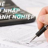 Các khoản thu nhập trong năm 2020 được giảm thuế TNDN